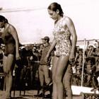1969 - Profª Chris Campeã Brasileira Universitária nos 400m livre pelo Esporte Clube Pinheiros/SP