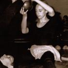 1971 - Profª Chris na disciplina de Ginástica Rítmica na Faculdade de Educação Física da USP