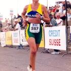1999 - Montreal: Profª Chris em sua segunda participação em Campeonatos Mundias de Triathlon