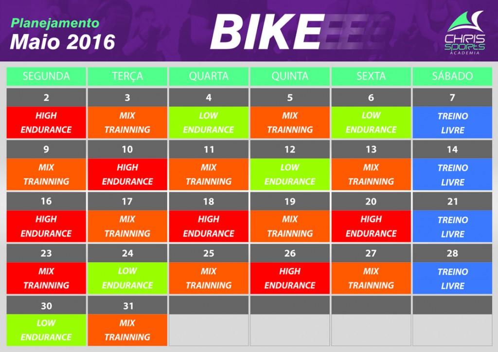 Planejamento bike maio 2016